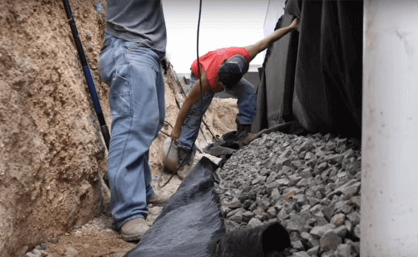 make  your house, walls and basement impervious to water